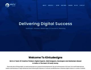 kintudesigns.com screenshot