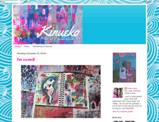 kinueko.blogspot.com screenshot