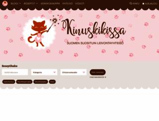 kinuskikissa.fi screenshot