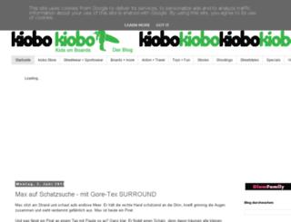 kiobo.blogspot.de screenshot