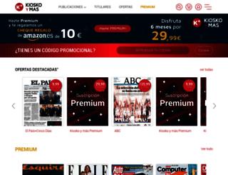 kioscoymas.com screenshot