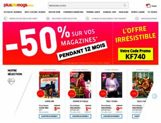 kiosque-magazines.fr screenshot
