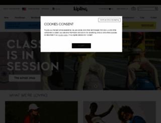 kipling.com screenshot