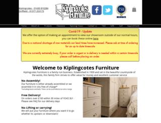 kiplingcotesfurniture.co.uk screenshot