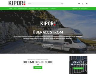 kipor.org screenshot