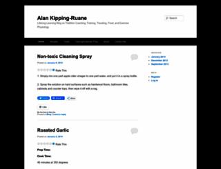 kippingruane.wordpress.com screenshot