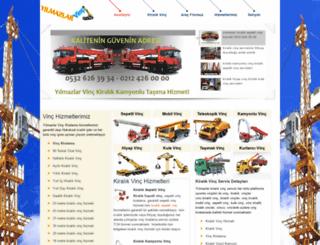 kiralik-vinc.com screenshot