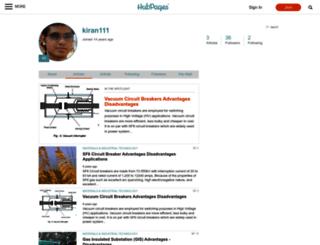 kiran111.hubpages.com screenshot