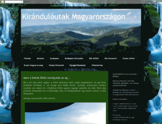 kiranduloutak.blogspot.hu screenshot
