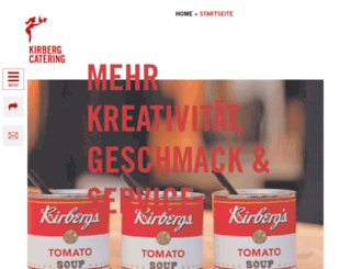 kirberg-catering.de screenshot