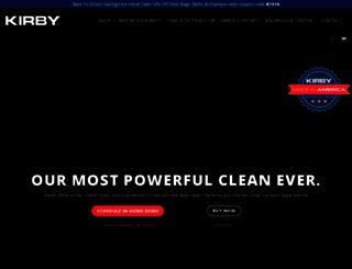 kirby.com screenshot