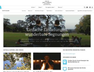 kirche-jesu-christi.org screenshot