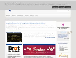 kirche-ostelsheim.de screenshot