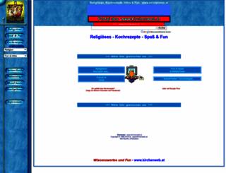 kirchenweb.at screenshot