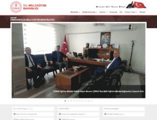 kirikhan.meb.gov.tr screenshot