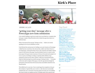 kirkbarrett.wordpress.com screenshot