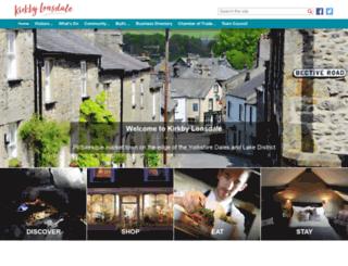 kirkbylonsdale.co.uk screenshot