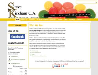kirkhamca.com screenshot