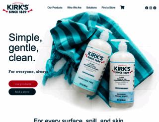 kirksnatural.com screenshot