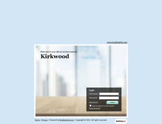 kirkwoodresidences.buildinglink.com screenshot