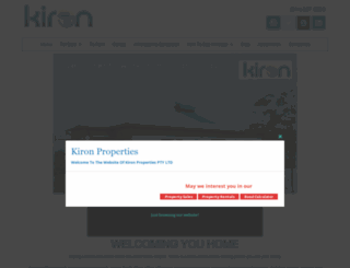 kironprop.co.za screenshot