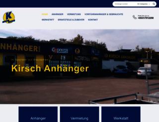 kirsch-anhaenger.de screenshot