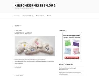 kirschkernkissen.org screenshot