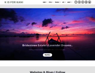 kisforkani.com screenshot