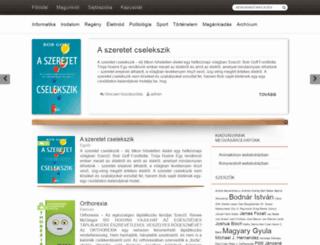 kiskapu.hu screenshot