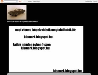 kismark.blogspot.com screenshot