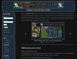 kisnardonline.com screenshot