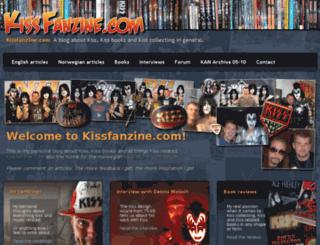 kissfanzine.com screenshot