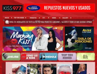 kissfm.emisorasunidas.com screenshot