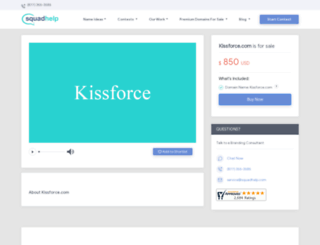 kissforce.com screenshot