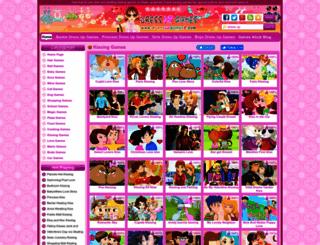 kissing-games.dressupgames8.com screenshot