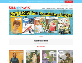 kissmekwik.co.uk screenshot