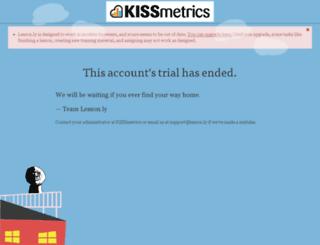 kissmetrics.lesson.ly screenshot