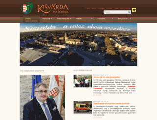 kisvarda.hu screenshot