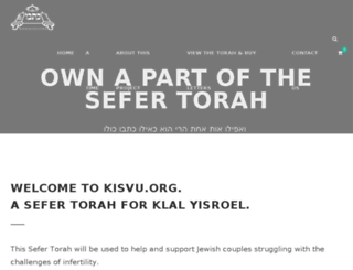 kisvu.org screenshot