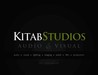 kitabstudios.com screenshot