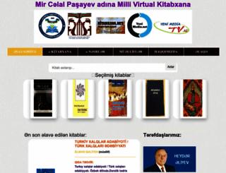 kitabxana.net screenshot
