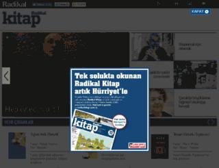 kitap.radikal.com.tr screenshot