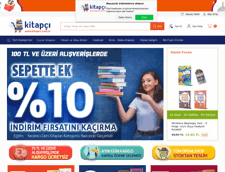 kitapci.com.tr screenshot