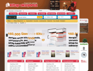 kitapokuyoruz.com screenshot