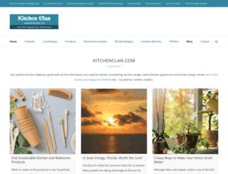 kitchenclan.com screenshot