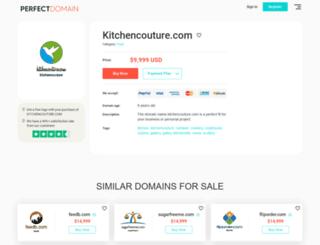 kitchencouture.com screenshot