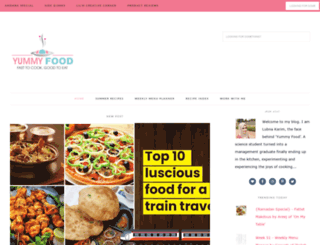 kitchenflavours.net screenshot