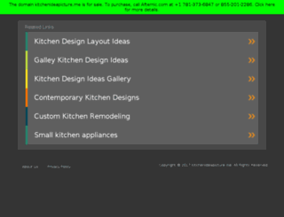 kitchenideapicture.me screenshot