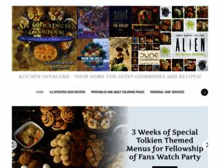 kitchenoverlord.com screenshot