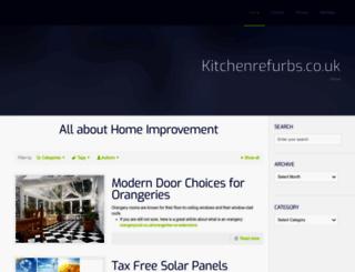 kitchenrefurbs.co.uk screenshot